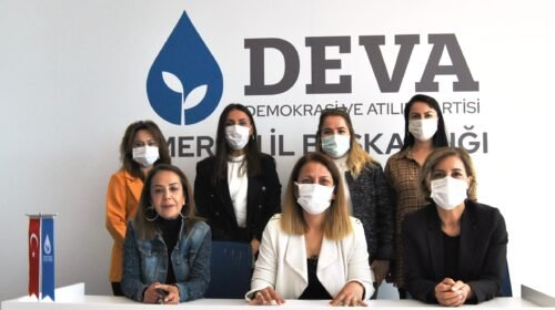 DEVA'da kadınlar seslerini İstanbul Sözleşmesi için yükseltti