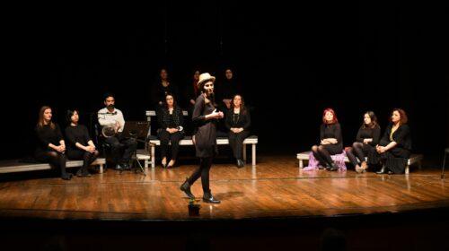 'Mersin'in Kadınları Tiyatroda' sahnelendi