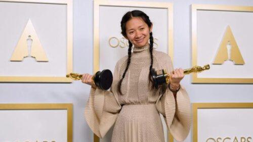 Cholé Zhao en iyi yönetmen Oscar'ını alan ikinci kadın oldu