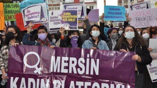 Polis barikatı kadınların direnişine çarptı