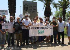 Mersin'de gazeteciler: Yerel basını öldürmeyin